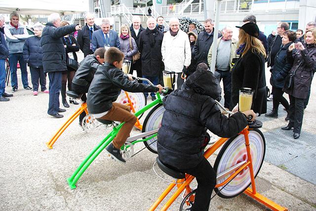 Animation vélo smoothie pour collectivités